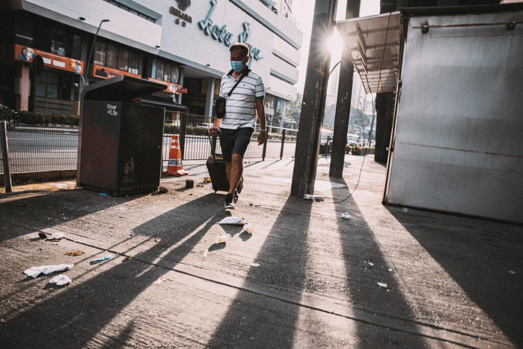 <h1>8:07:23 am</h1><br> Petaling Street